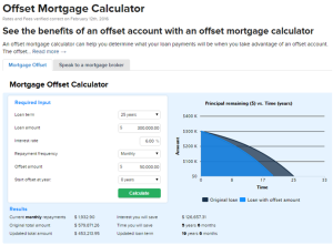 Finder-Home-Loan-Offset-Calculator