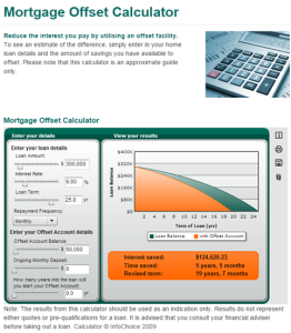 Suncorp-Home-Loan-Offset-Calculator