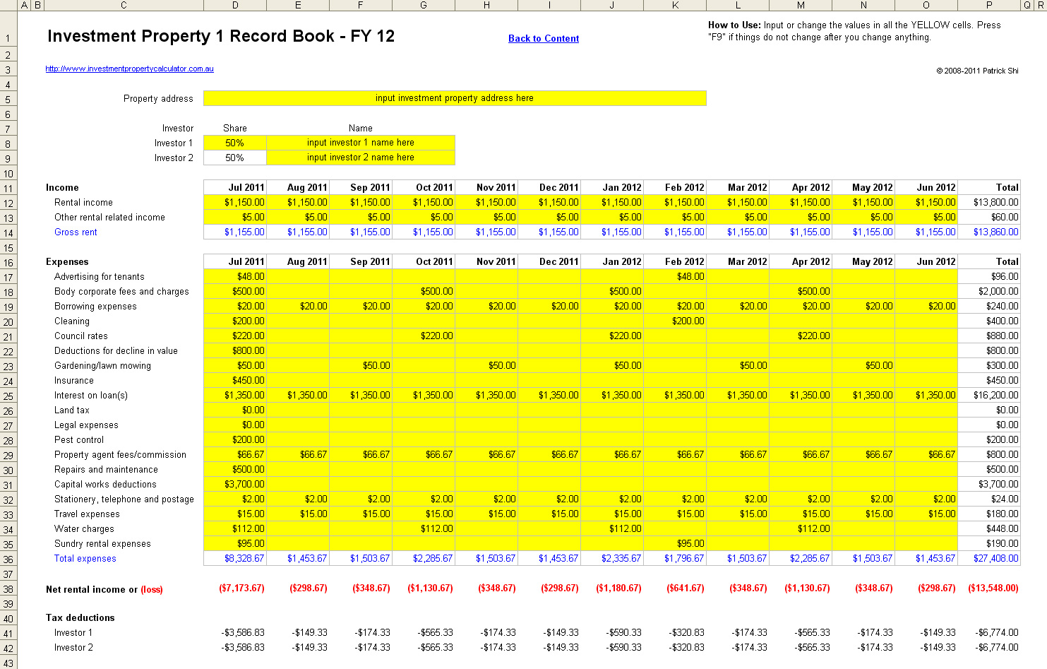 personal financial management excel template images