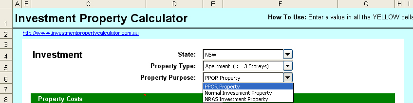 size image of How to use PR & NRAS investment property calculations